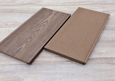 環保塑化木| 胡桃色 4.67寸-實心